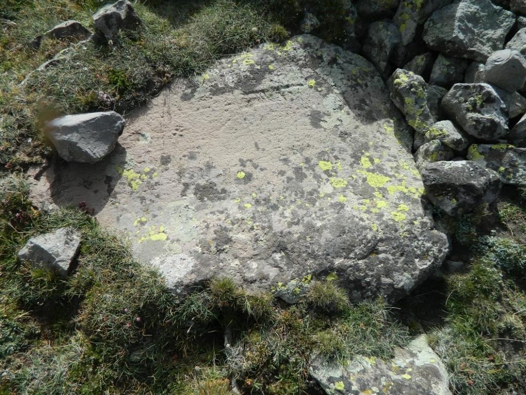 Buzul izli taşlar altın yok dedi